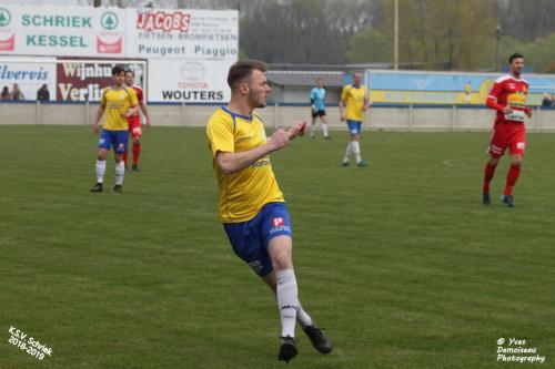 14-04-2019 - KSV Schriek -  KFC Kontich 018